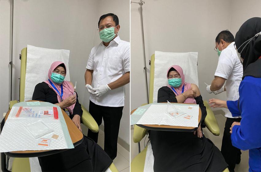 Siti Fadilah Setelah Disuntik Vaksin Nusantara