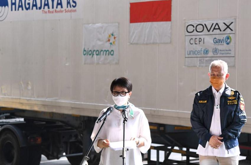 Menlu: Indonesia Dukung Penghapusan Hak Paten Vaksin Covid 19