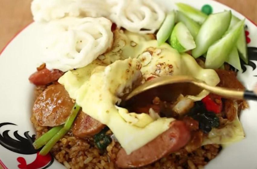 Resep 'Nasi Goreng Keju' ala Chef Devina Hermawan, Maknyus!