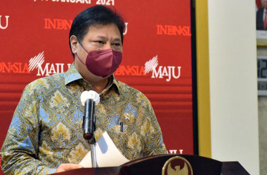 Airlangga Optimistis Pemulihan Ekonomi Nasional Berlanjut di Kuartal II 2021