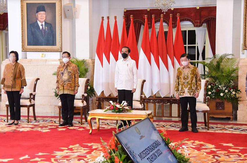 Presiden: Pandemi Beri Pelajaran Luar Biasa Dalam Perencanaan Pembangunan