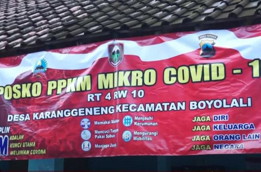 PPKM Mikro harus Diterapkan Sampai ke Tingkat RT/RW