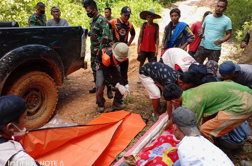 Tujuh Tewas Tertimbun Longsor Tambang Emas di Solok Selatan