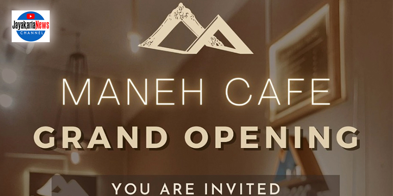 Grand Opening Maneh Cafe