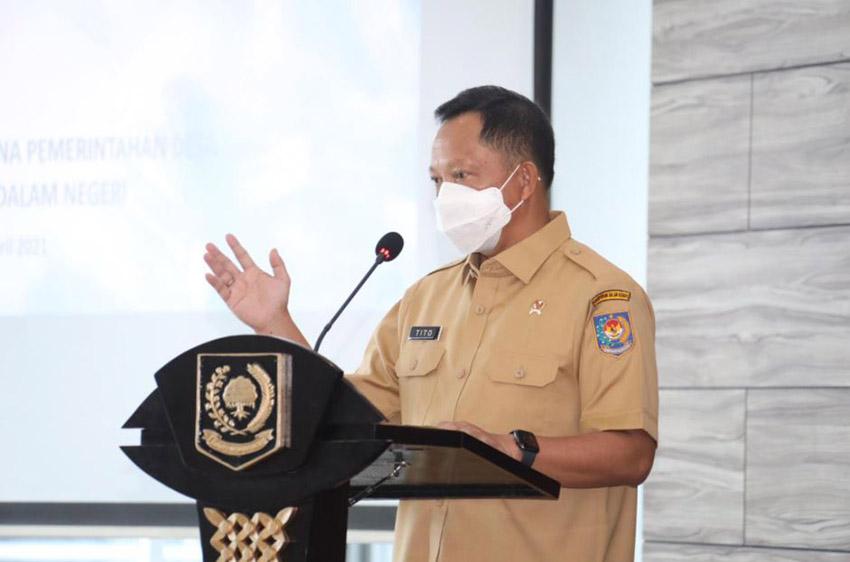 Tangani Pandemi, Mendagri Minta Kepala Daerah Manfaatkan Keberadaan Forkopimda