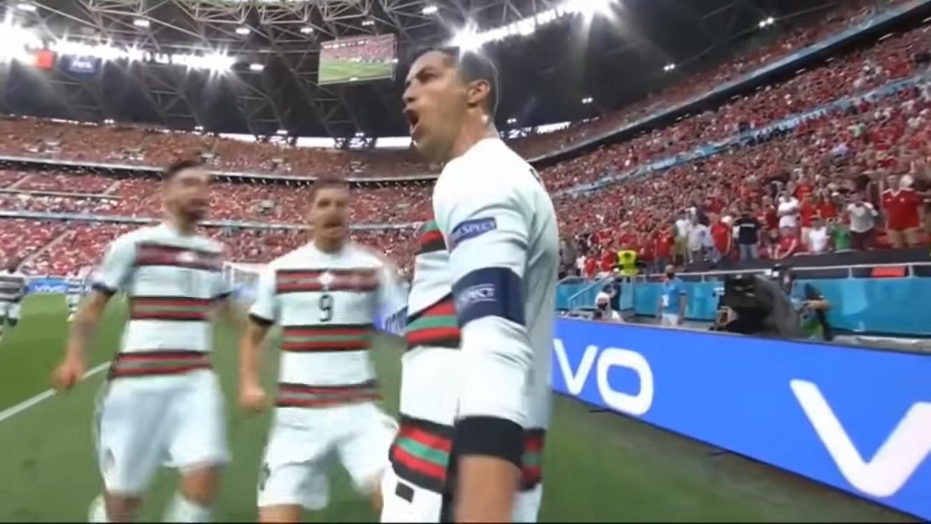 Ronaldo Lampaui Rekor Platini
