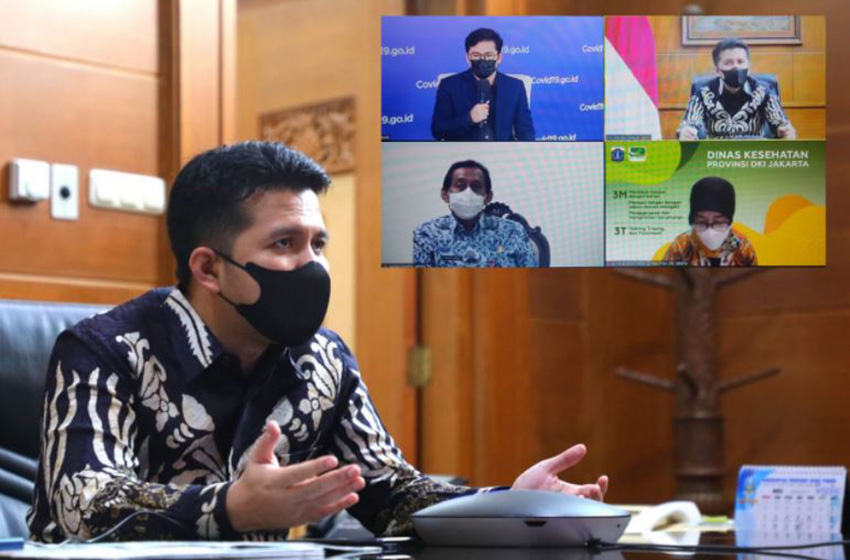 Wagub Jatim Paparkan Langkah Penanganan Kasus Covid-19 di Bangkalan