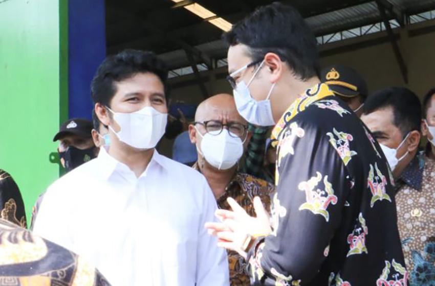 Wamendag RI Tinjau SRG Lamongan, Wagub Emil Sampaikan Pentingnya Pengelola Reaktivasi Gudang Panen