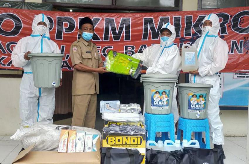 Prioritas Pengetatan PPKM Mikro 8 Desa di  Bangkalan