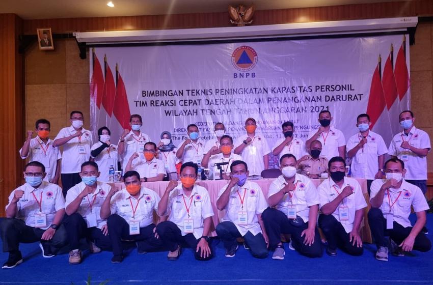 BNPB Tutup Bimtek TRC Zona Tengah