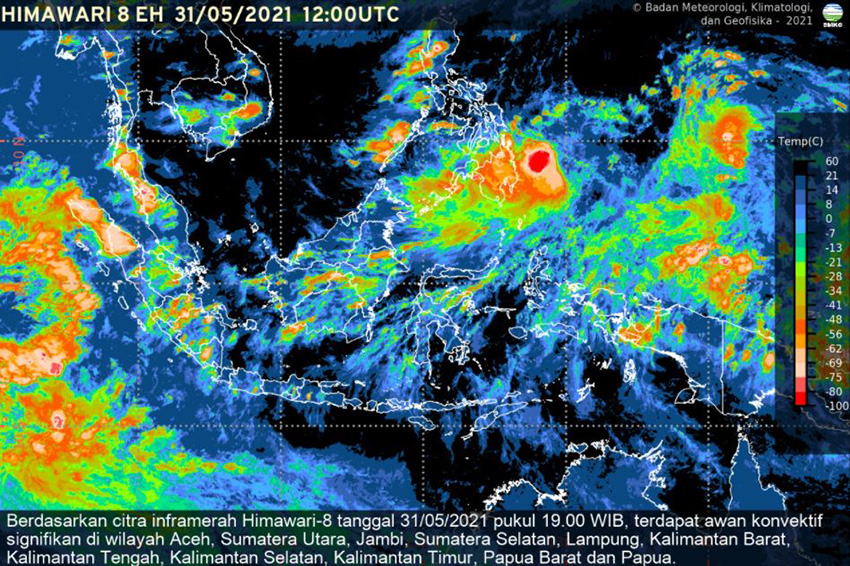 Ada Siklon Tropis Choi-Wan, Waspada Bencana Hidrometeorologi Dalam Dua Hari ke Depan
