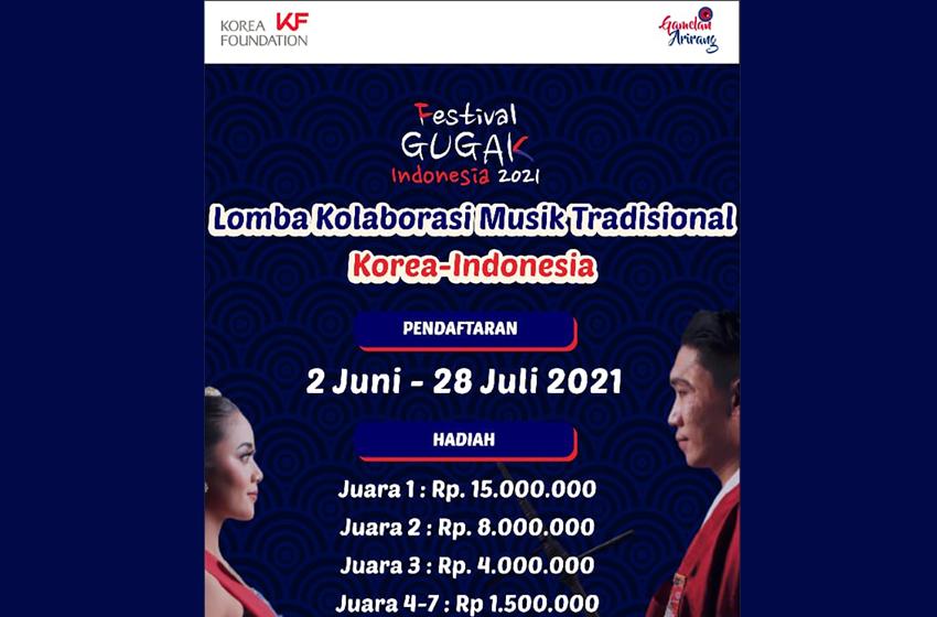 Lomba Kolaborasi Musik Tradisional Korea – Indonesia 2021