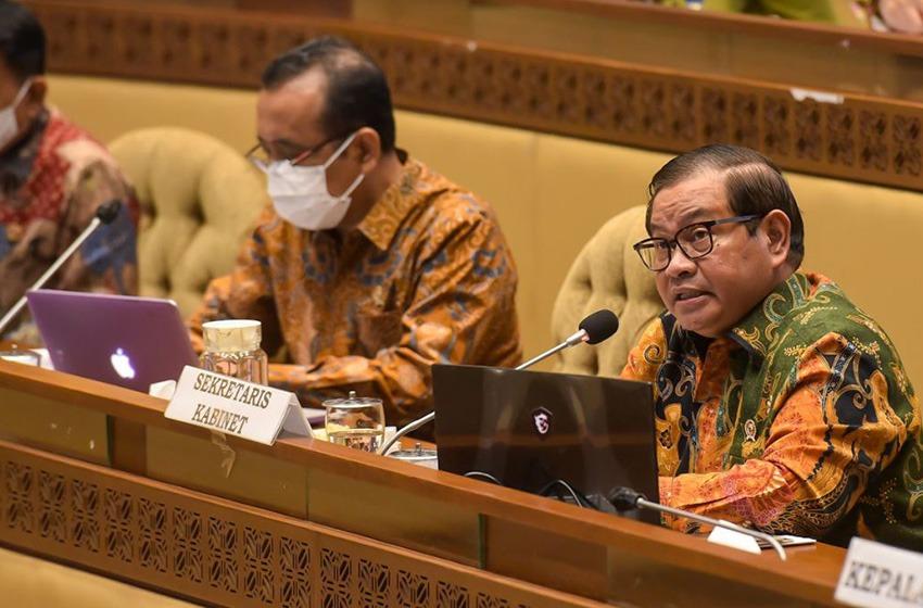 Penghematan Anggaran Tahun 2021         Sekretariat Kabinet Capai Rp26,33 Miliar