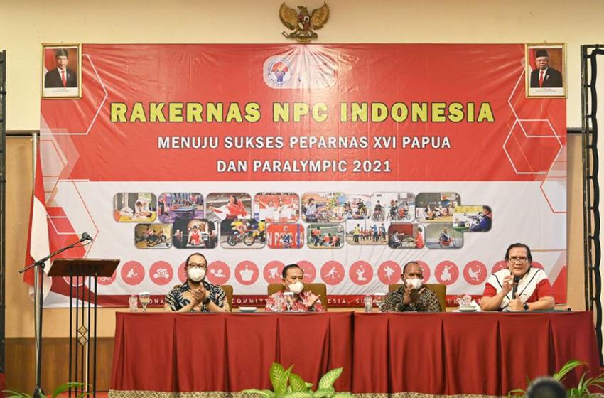 Rakernas NPCI Bahas Persiapan Peparnas XVI Papua