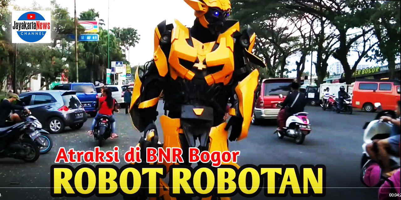 "Atraksi ""Robot"" di BNR Bogor"
