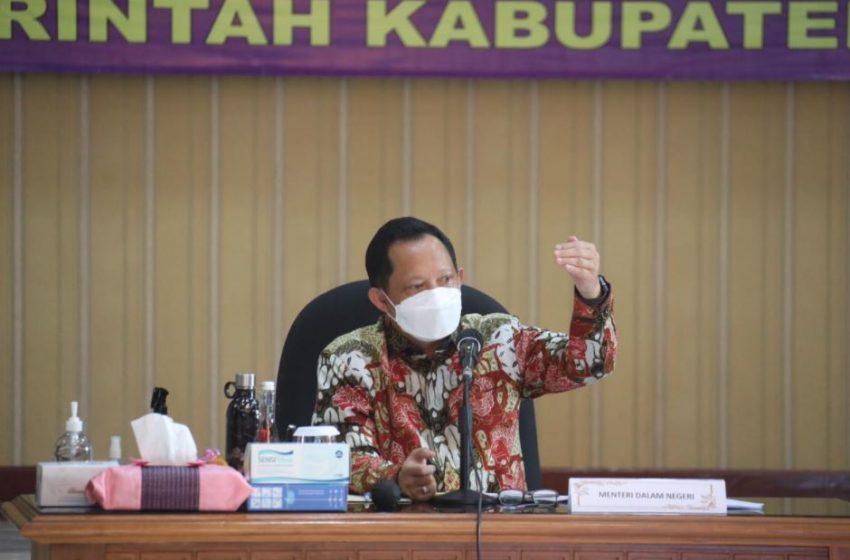 Mendagri Minta Realisasi Insentif Nakes Kabupaten Cirebon Ditingkatkan