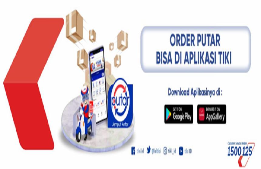 TIKI PUTAR Layanan City Courier Untuk Bandung dan Mataram