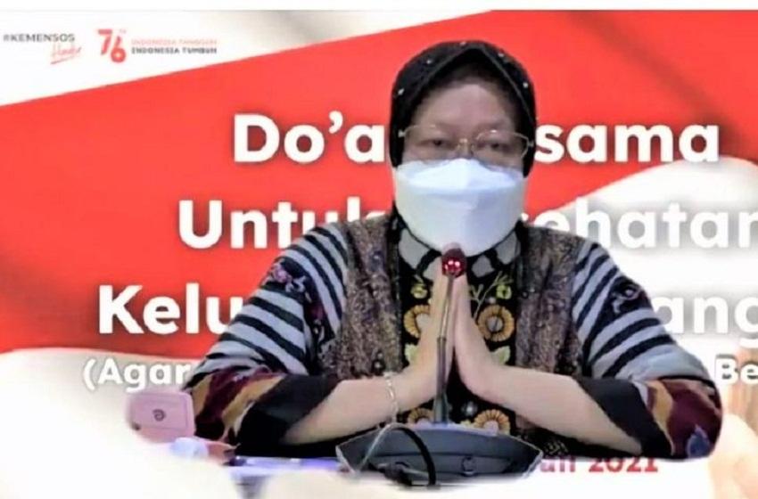 Mensos Gelar Doa Bersama Secara Virtual, Harap Pandemi Berakhir