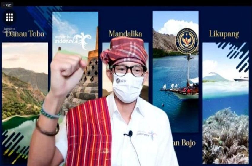 Menparekraf Resmikan Situs Parhutaan Ompung Tuan Sorimangaraja di Samosir