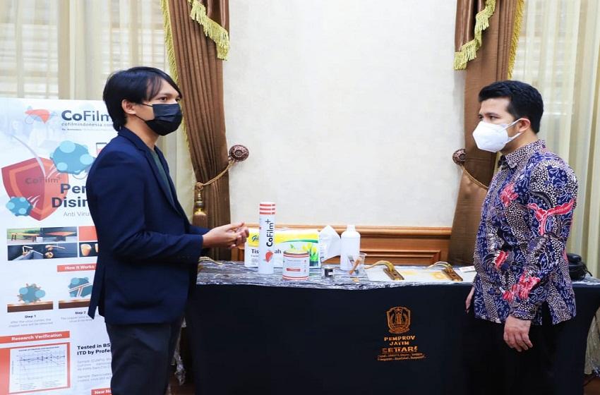 Pakar Teknologi Nano ITS Ciptakan Disinfektan Permanen Anti-Virus