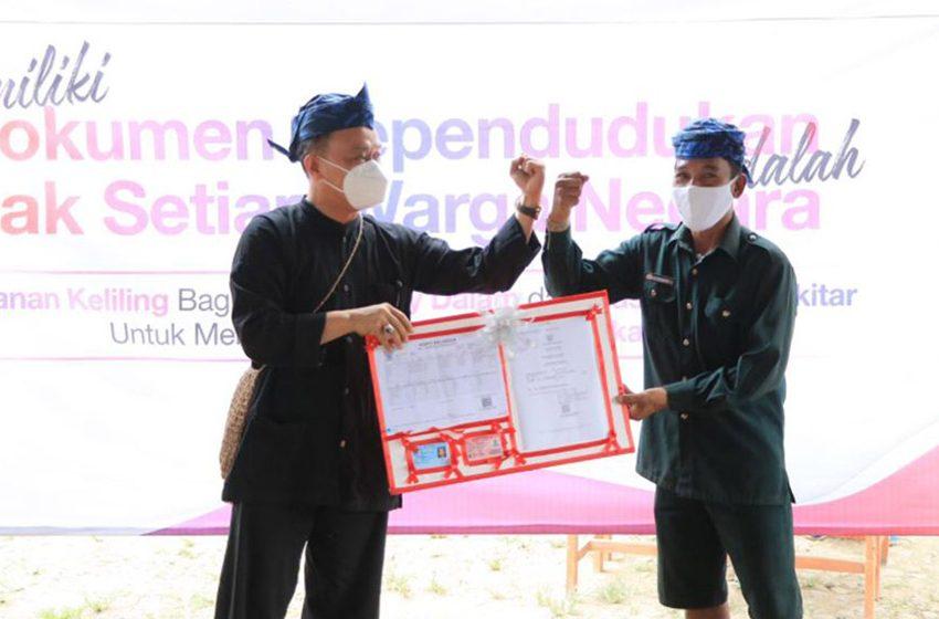 Beri Identitas Penduduk, Dukcapil Gelar Layanan Adminduk untuk Komunitas Adat Baduy Dalam Dan Baduy Luar