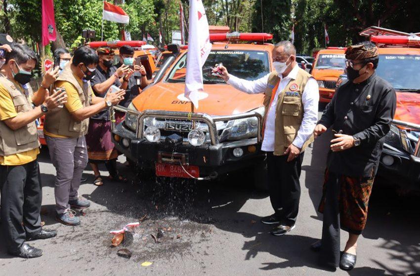 BNPB Luncurkan Mobil Masker Perkuat Disiplin Masyarakat di Pulau Bali