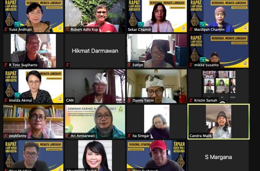 Pengurus Satupena Demisioner: Rapat Luar Biasa Anggota Hasilkan Keputusan Strategis