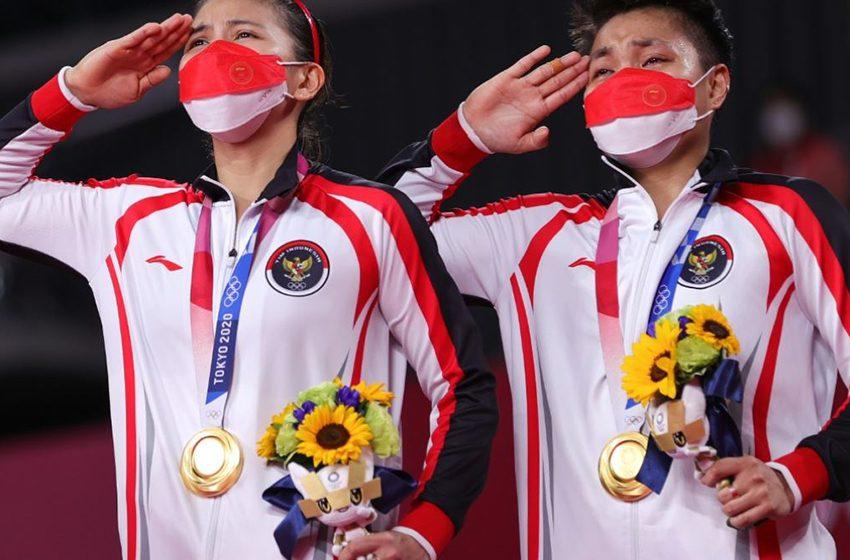 Air Mata Sejarah Greysia/Apriyani Terukir di Olimpiade Tokyo 2020