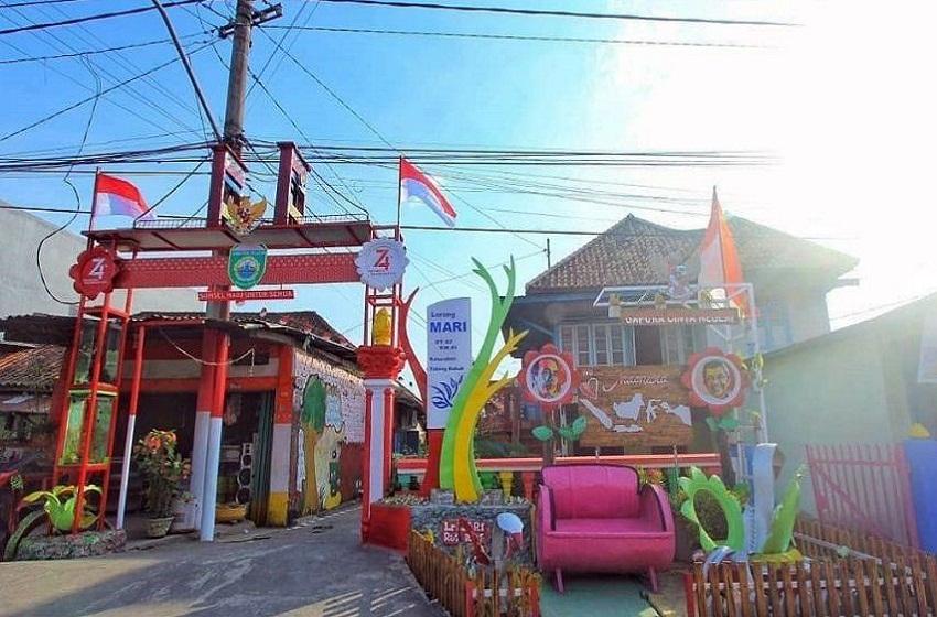 Kampung Kreasi Lorong Mari, Dari Kumuh Menjadi Desa Wisata Indonesia