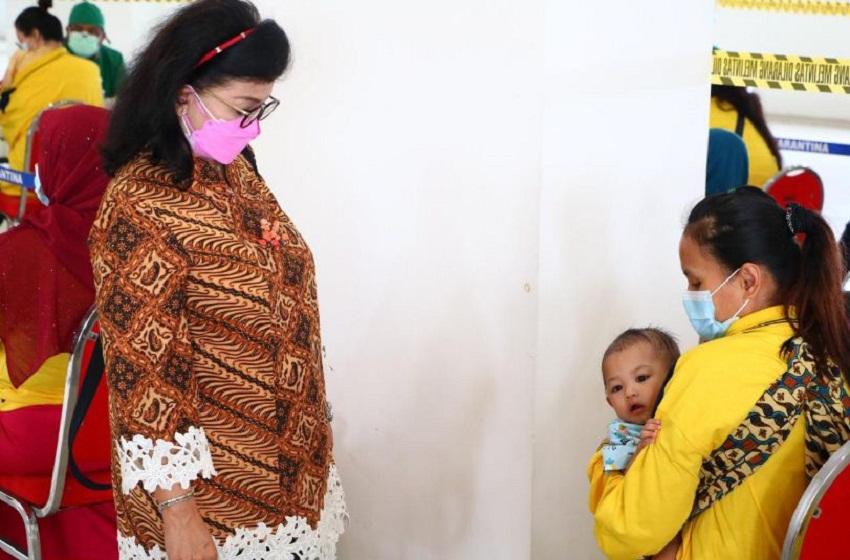 Vaksinasi Bagi Pekerja Migran Indonesia Bermasalah di Wisma Atlet Pademangan