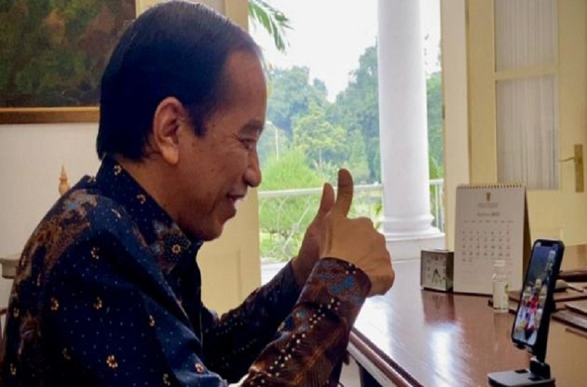 Saat Presiden Jokowi Telepon Sang Peraih Emas Olimpiade Tokyo