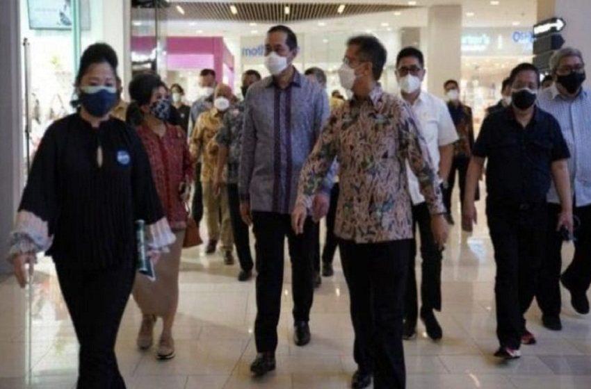 Mendag Tinjau Kesiapan Uji Coba Pembukaan 138 Pusat Perbelanjaan dan Mal