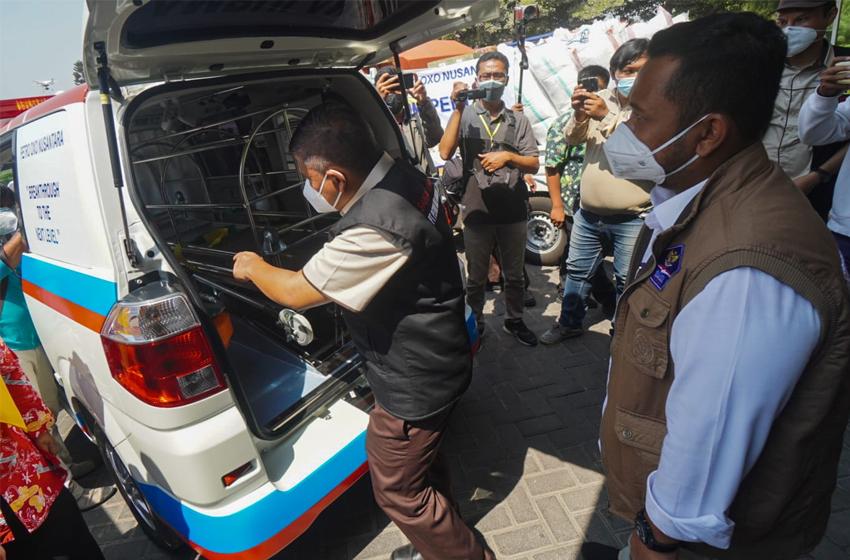 PT PON Donasikan Rp 6,3 Miliar untuk Penanganan Covid-19 di Gresik