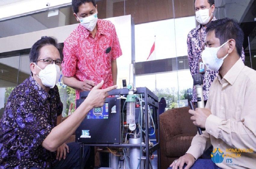 ITS Berhasil Inovasikan Konsentrator Oksigen