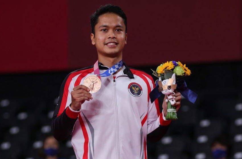 Perunggu Anthony Ginting, Penutup  Penampilan Indonesia di Olimpiade Tokyo 2020