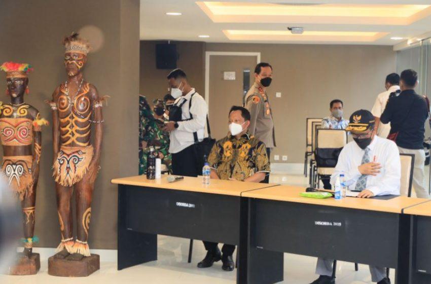 Jelang PON XX, Mendagri Cek Kesiapan Sejumlah Venue di Jayapura, Papua