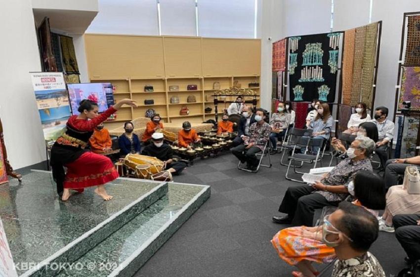 """Degung dan Tari Jaipong di Acara """"Indonesia Day"""" KBRI Tokyo"""
