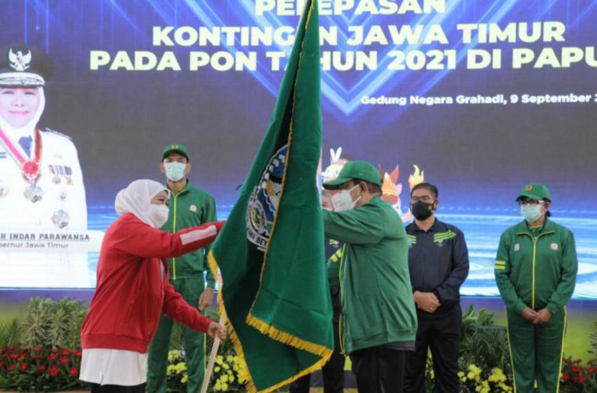 Kontingen Jatim Ke PON XX Papua Menurunkan 544 Atlet