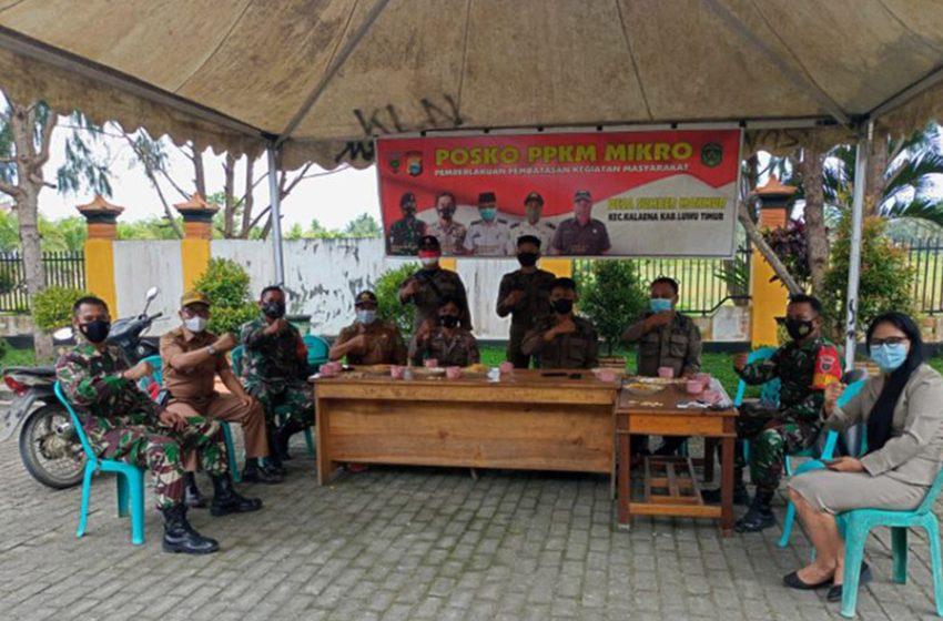 Sebanyak 74,63% Desa di Indonesia telah Miliki Posko PPKM