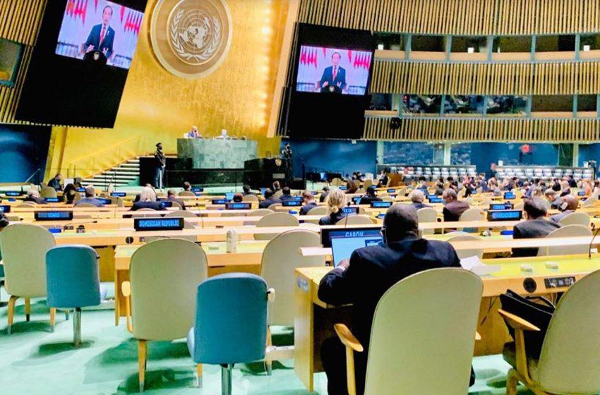 Pidato di Sidang Umum PBB, Jokowi: Politisasi dan Diskriminasi terhadap Vaksin Masih Terjadi