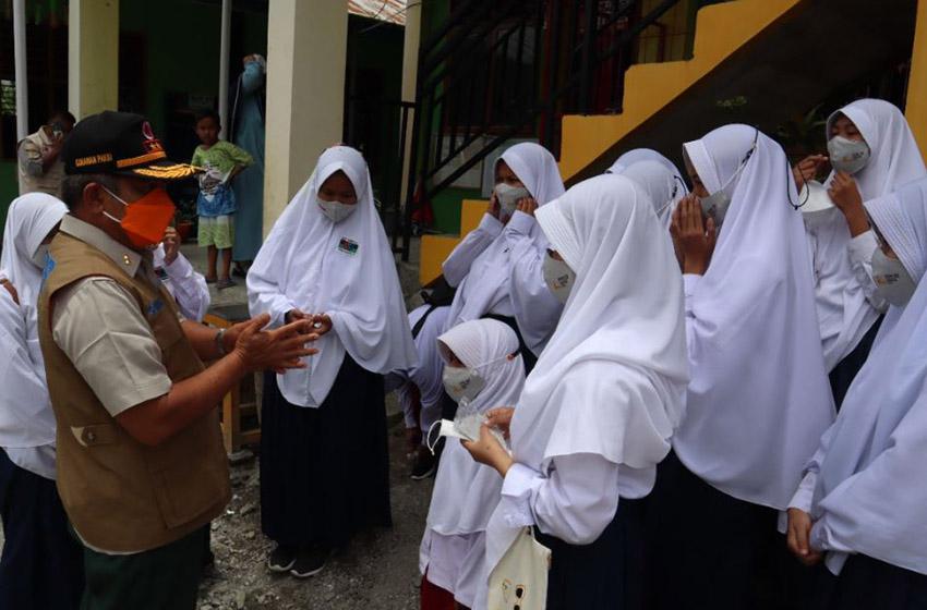 Satgas Prokes PON XX Dukung Pembelajaran Tatap Muka Aman Covid di Mimika