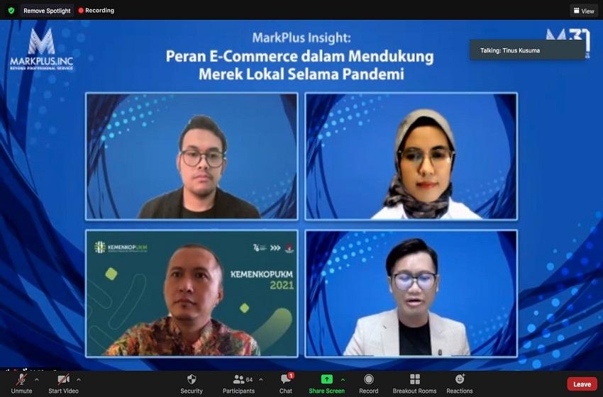 Survei Markplus: E-commerce yang Mendukung Produk Lokal Selama Pandemi