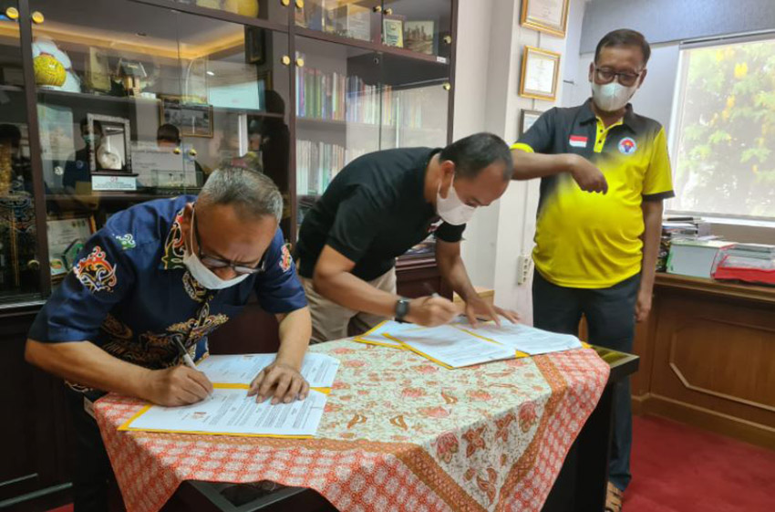 Dukung  JKW-PWI, Deputi Pembudayaan Olahraga Kemenpora Ingatkan Jaga Kebugaran Tubuh